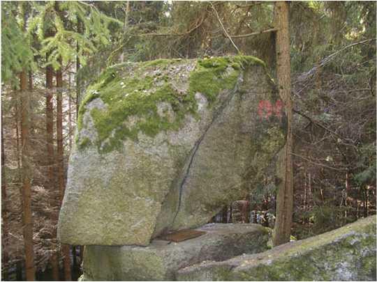 03 1 - Wackelstein & Klauskapelle, Groß Gerungs