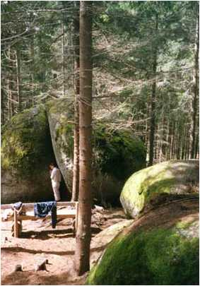 03 8 - Die Weltkugel in der Kraftarena Groß Gerungs