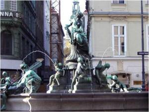 donnerbrunnen 300x225 - Kult & Kraftplätze im Raum Wien