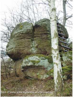 opferstein - Opferstein, Groß Gerungs