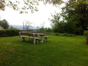 Rastplatz im Garten