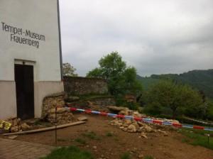 Die aktuellen Ausgrabungen (Mai 2013)