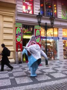 Freundlicher Haifisch