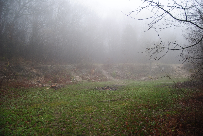 MaurerWald Dez15 058 - Der neolithische Steinbruch im Maurer Wald