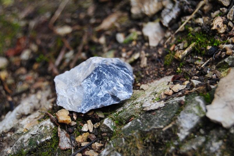 MaurerWald Dez15 066 - Der neolithische Steinbruch im Maurer Wald