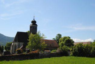 Kirche MuMaDo2012 052 314x210 - St. Peter am Moos - die Pfarrkirche von Muthmannsdorf