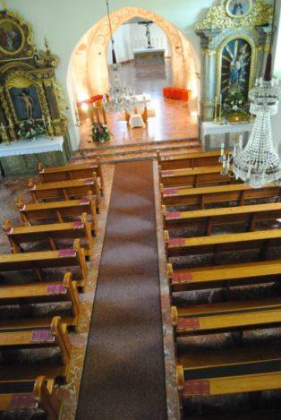 Kirche MuMaDo2012 099 314x469 - St. Peter am Moos - die Pfarrkirche von Muthmannsdorf