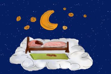 GuteNacht 373x248 - Selbsthilfetipps für guten Schlaf - Der gute Schlafplatz, Teil 2
