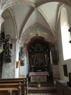 Puergg 054 235x313 - Pürgg - zu Besuch im steirischen Kripperl: Georgskirche, Katharinenkapelle und das Johanneskircherl