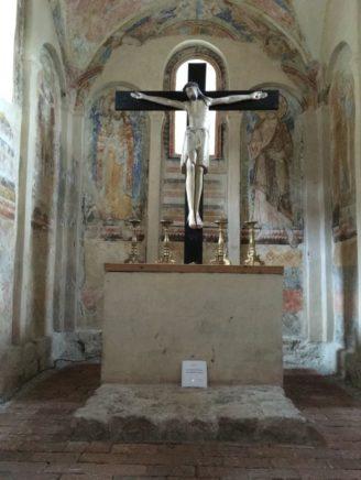 Puergg Johanniskapelle 031 328x436 - Pürgg - zu Besuch im steirischen Kripperl: Georgskirche, Katharinenkapelle und das Johanneskircherl