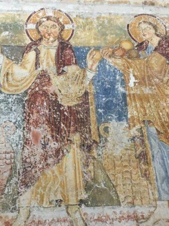 Puergg Johanniskapelle 037 341x455 - Pürgg - zu Besuch im steirischen Kripperl: Georgskirche, Katharinenkapelle und das Johanneskircherl