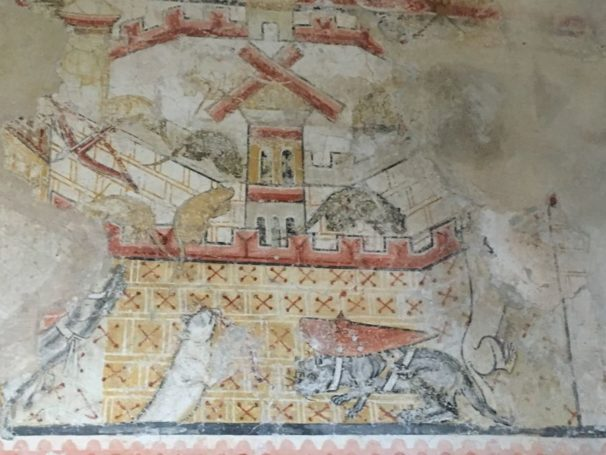 Puergg Johanniskapelle 039 606x455 - Pürgg - zu Besuch im steirischen Kripperl: Georgskirche, Katharinenkapelle und das Johanneskircherl
