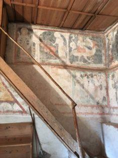 Puergg Katharinenkapelle 004 235x313 - Pürgg - zu Besuch im steirischen Kripperl: Georgskirche, Katharinenkapelle und das Johanneskircherl