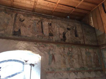 Puergg Katharinenkapelle 010 444x333 - Pürgg - zu Besuch im steirischen Kripperl: Georgskirche, Katharinenkapelle und das Johanneskircherl
