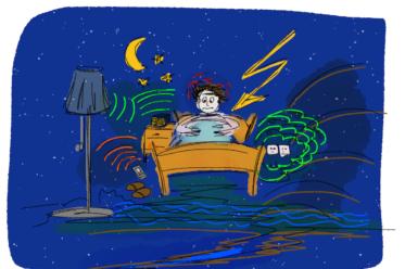 Schlafprobleme radiaesthetischeUrsachen 373x248 - Wasserader, Verwerfung & Co: Radiästhetische Probleme - Der gute Schlafplatz, Teil 3