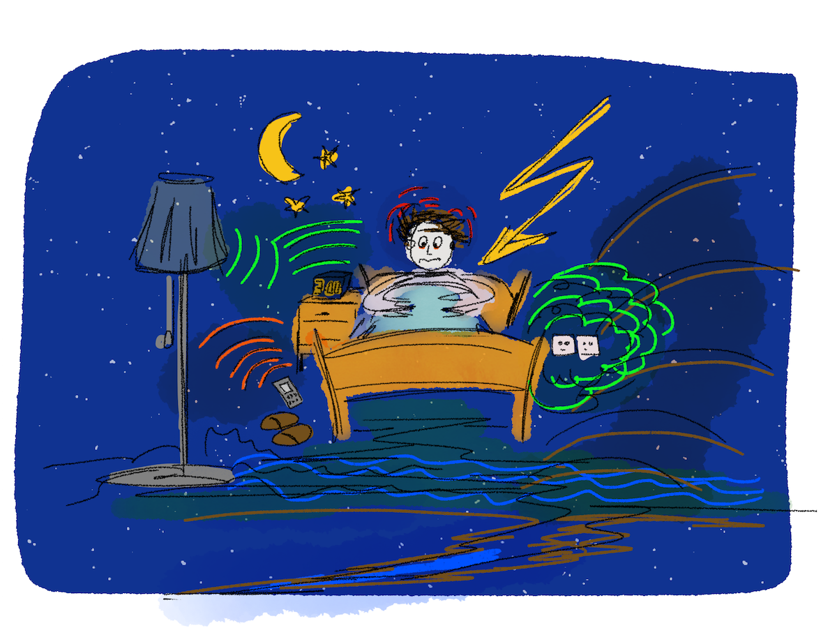 Schlafprobleme radiaesthetischeUrsachen - Zitat - Fundstück: Das Leben als Reise