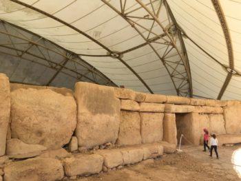 MaltaGozo hagar qim 053 350x263 - Auf Göttinnenspuren in Malta & Gozo - Rückblick 2/3: die Tempel