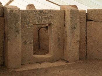 MaltaGozo hagar qim 092 350x262 - Auf Göttinnenspuren in Malta & Gozo - Rückblick 2/3: die Tempel