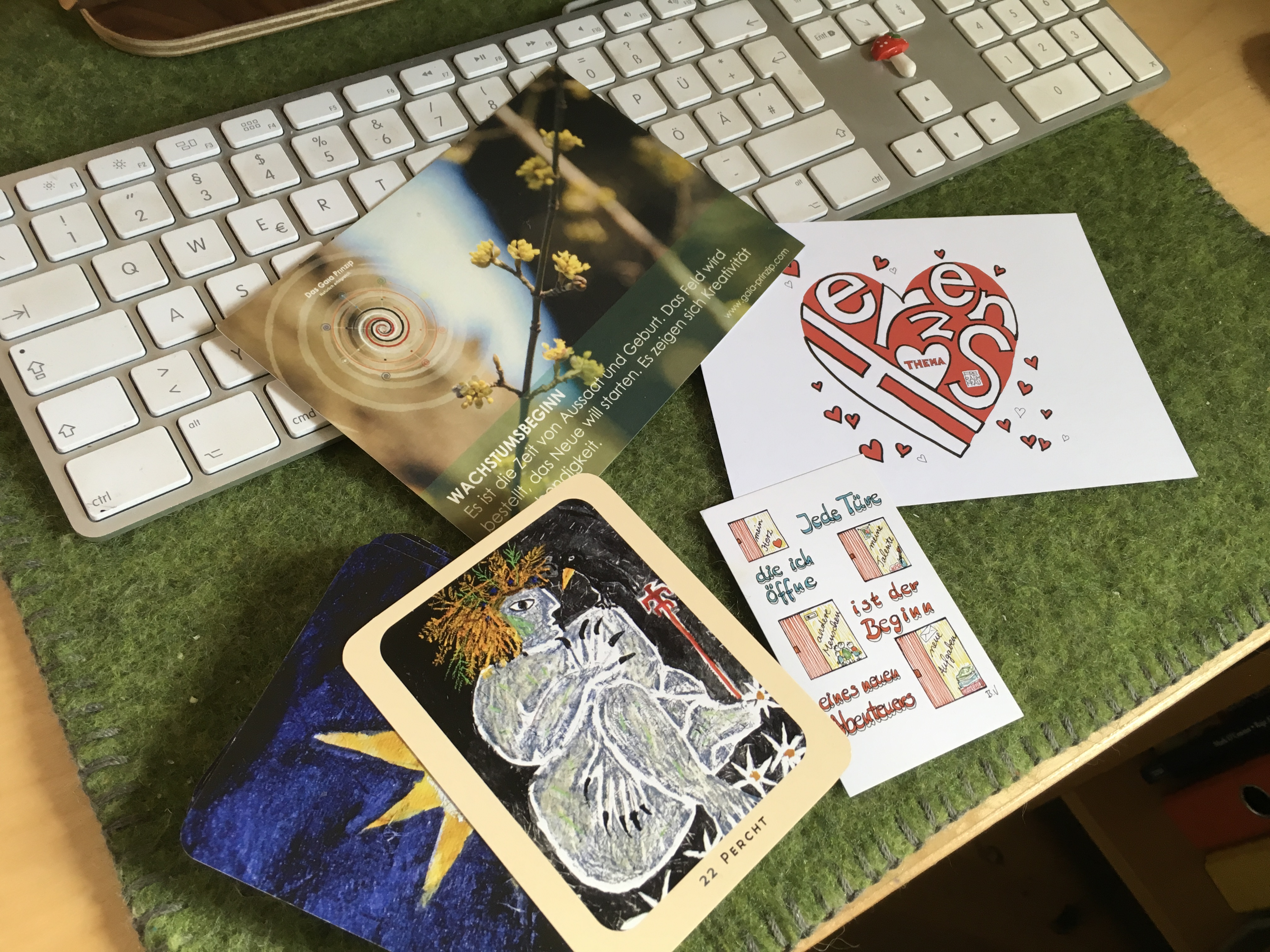 Kartensets - Kartensets - vier Vorstellungen