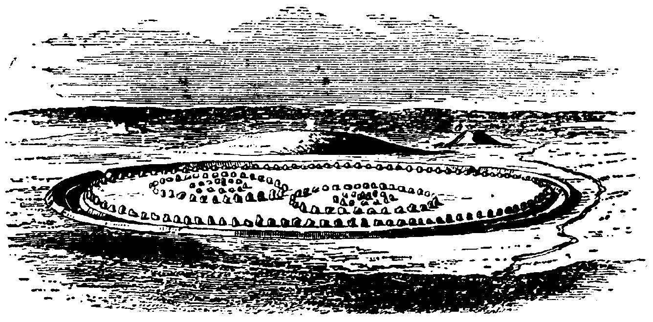 Avebury Stensättningen i ursprungligt skick Nordisk familjebok - Steinkreise, Pubs und Kathedralen - mit dem Käsehobel in England