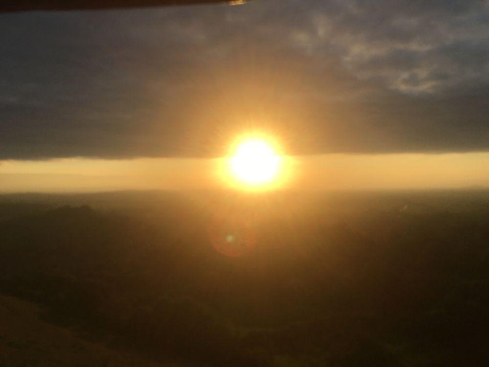 TorEngland2018 034 - Gog, Magog und ein magischer Sonnenuntergang am Tor - mit dem Käsehobel in England