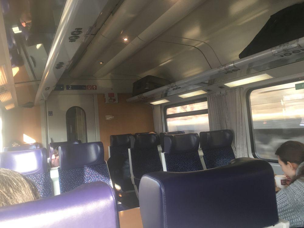 steirischeZugfahrt 002 - Szenen einer steirischen Zugreise: Wenn die Kraftplätze vorbeiziehen