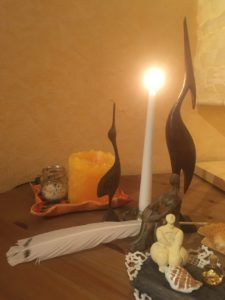 Brighid Lichtmess 225x300 - Lichtmess - Imbolc - Brighid: Rituale allein und in der Gruppe