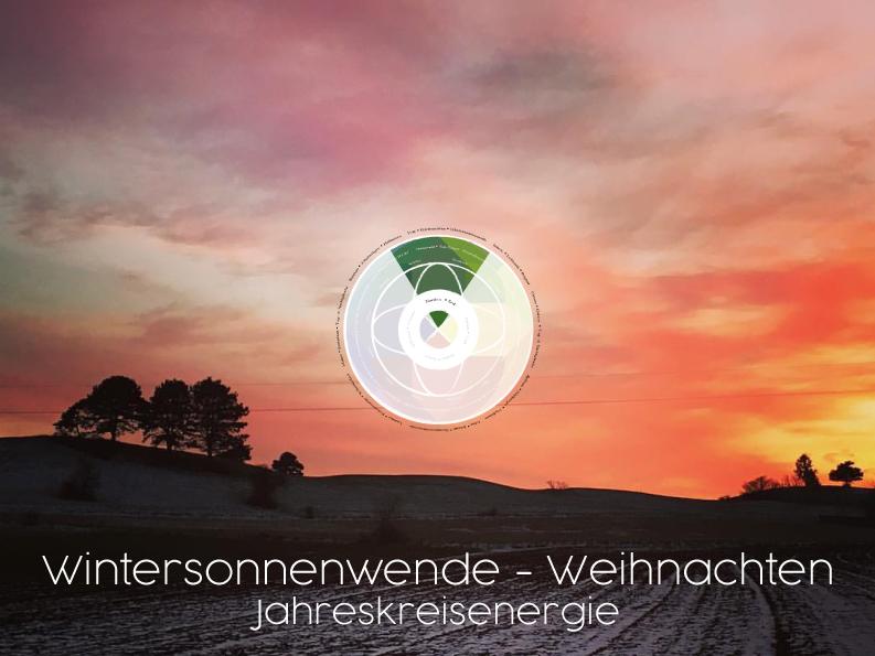 Wintersonnenwende Jahreskreisenergie - Wintersonnenwende & Weihnachten: die Jahreskreisenergie